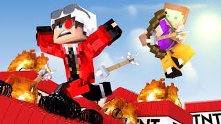 МЫ С ПОЗЗИ УСТРОИЛИ НОСТАЛЬГИЧЕСКУЮ ЗАРУБУ В ТНТ ИГРЫ! Minecraft TnT Games