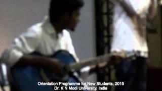 DKNMU, Orientation Program 2015