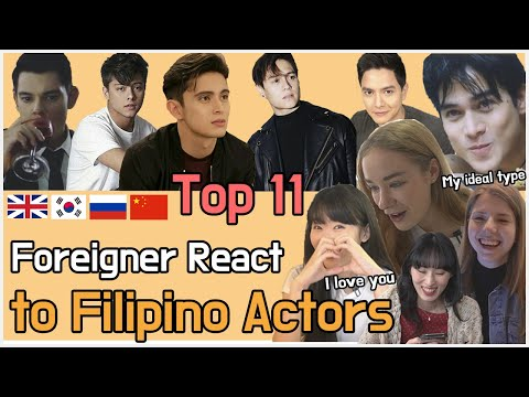 Who's the most handsome in the Philippines? Foreigners react to Filipino actor Top11