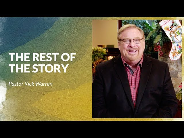 2018 Christmas Day Message with Pastor Rick Warren