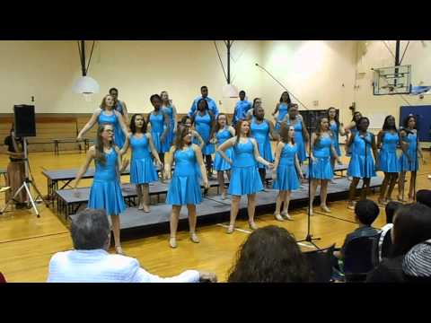 Crete Monee Middle School Choir Performance 5/6/14