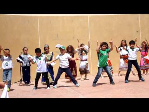 Algeria Dancing رقصات جزائرية  international_DAY #QATAR #Al-khor  (dziri,kbayli,rai ) #AKC
