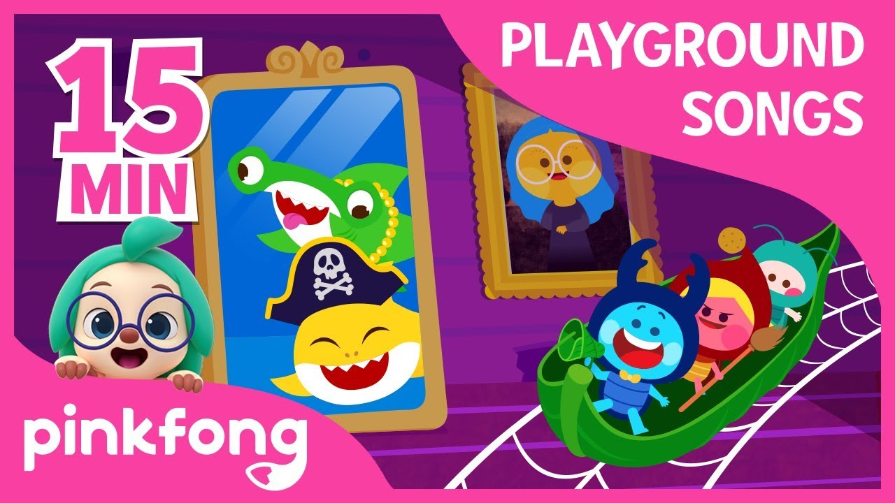 Playground Songs l Baby Shark | +Compilation | Pinkfong Songs for children