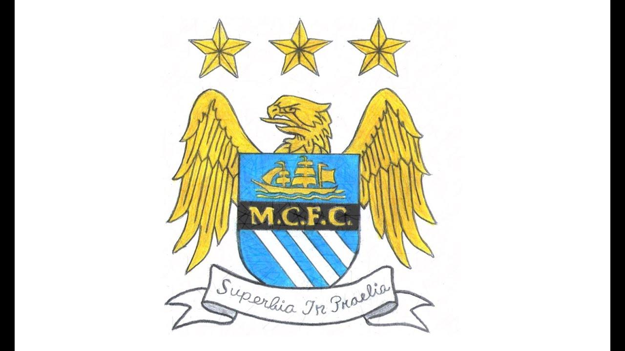 Wie zeichnet man logo von Manchester City FC (Englisch ...