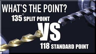 Tool Test: 135 Split Point VS 118 Standard Point Drills | WW253
