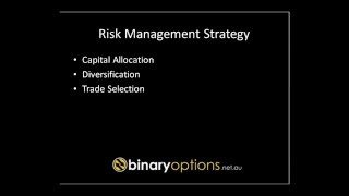 Risk Management - Trading size and Capital Size - Binary Options 101