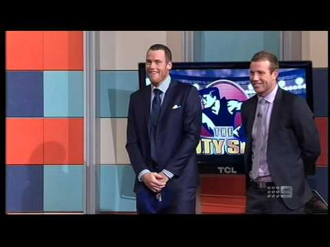AFL Footy Show   Shane with the Fire Extinguisher II 2013