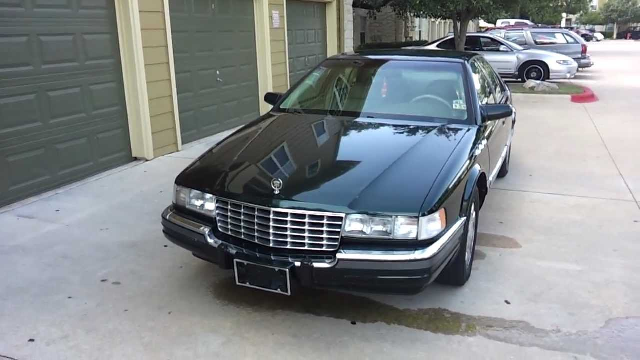 My Second Car 1996 Cadillac Seville Sls Youtube