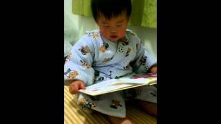 2013.2.27 這本書已經被小光翻爛了,不過也還好他已經可以找到金魚在哪...