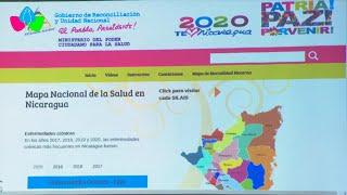 Nicaragua: Ministerio de Salud presenta avances del Mapa Nacional de Salud