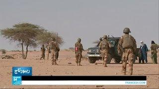 شاهد..القوات الفرنسية تبحث عن المتمردين في مالي