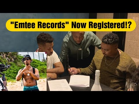 """Download Emtee Signed his first Artist under """"Emtee Records"""" Officially,Emtee Records Now A Registered Label?"""
