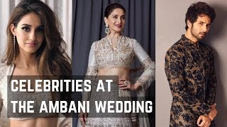 Celebrities At The Isha Ambani's Wedding