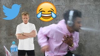TRY NOT TO LAUGH (GORDON RAMSAY TWITTER ROASTS)