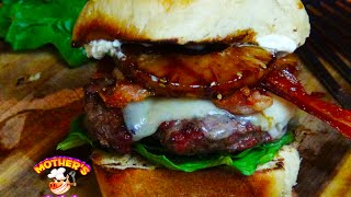 Aloha Burger Recipe | With Homemade Hawaiian Sweet Burger Buns