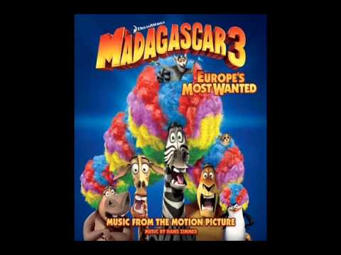 Cue Madagascar 3, by Hans Zimmer, mixed by Mr. Luis Zimmer