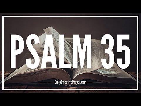 Prayer Against Unjust Enemies - Psalm 35