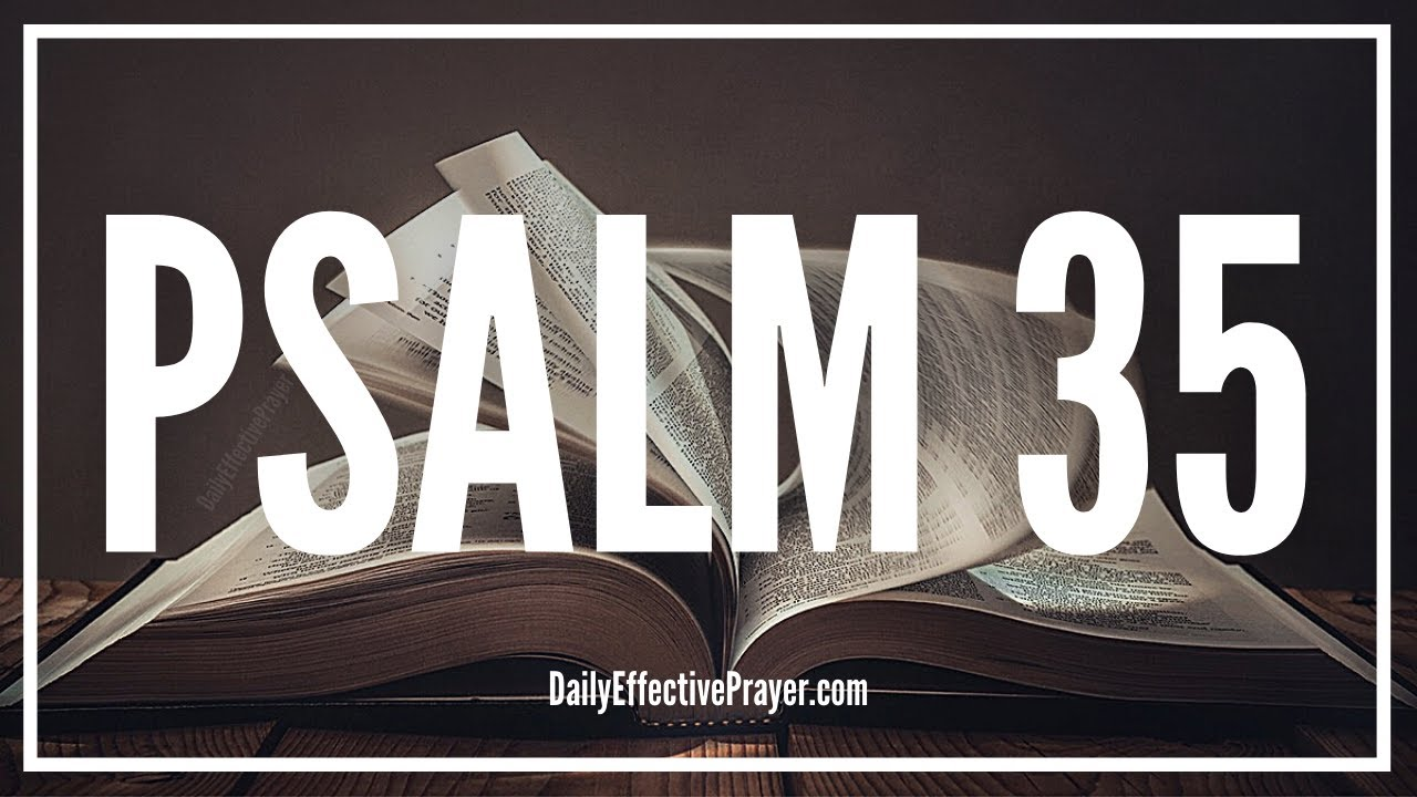 Prayer Against Unjust Enemies | Psalm 35 | Bible Word Of God