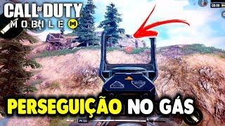 PERSEGUIÇÃO NO GÁS - CALL OF DUTY MOBILE ANDROID E IOS