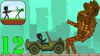 Stickman Zombie Shooter - Gameplay Walkthrough Part 12 City-  (Epic Stickman Games Android)