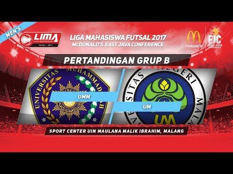 UMM VS UM di LIMA Futsal McDonald's East Java Conference 2017 (Men's)