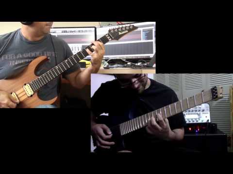 Dream Theater Innocence Faded guitar cover by Michael Ortiz and Michael Bonet
