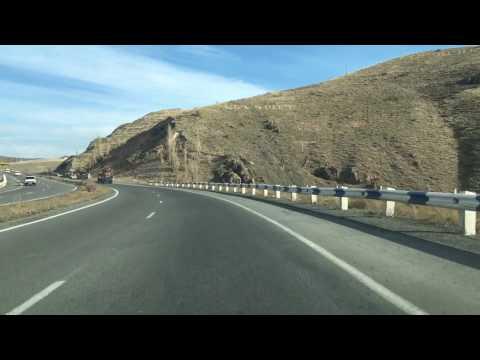 Yerevan, 13.11.16, Su, (на рус) Поездка в Дилижан, Video-1, До Севана