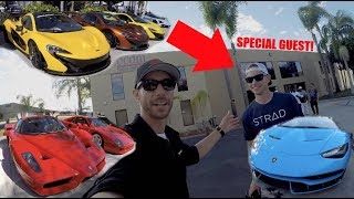 THE BILLIONAIR CAR SHOW! With SPECIAL Guest.... The Stradman!
