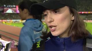 Мария Ласицкене в преддверии старта на чемпионате мира в Лондоне