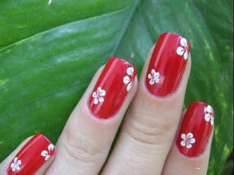 U as decoradas con esmalte sencillas y bonitas manicure - Unas decoradas con esmalte ...