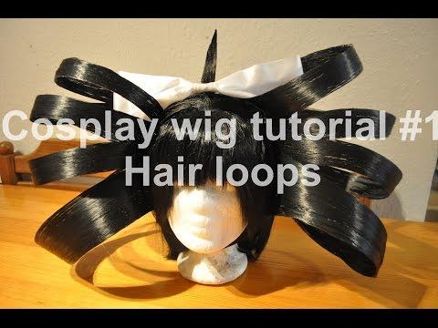 [WettergottCosplay] How to make Hair Loops (Cosplay Wig Tutorial #1)