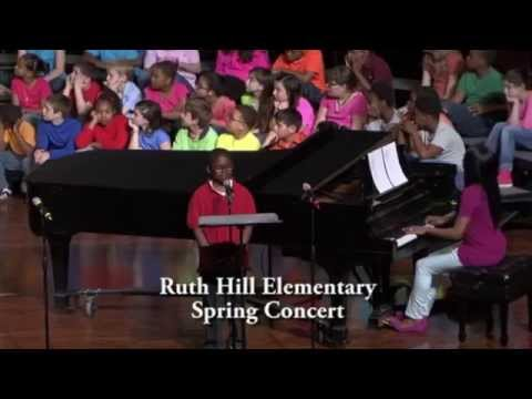 """CARAVAN OF LOVE"" - RUTH HILL ELEMENTARY SCHOOL SPRING 2014 CONCERT"