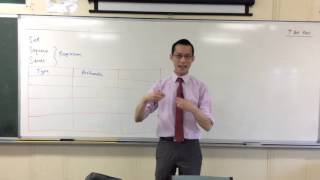 Introduction to Arithmetic Progressions (1 of 2: Pattern & Formula)