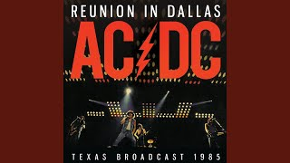 Shake Your Foundations Live At The Reunion Arena Dallas TX 1985