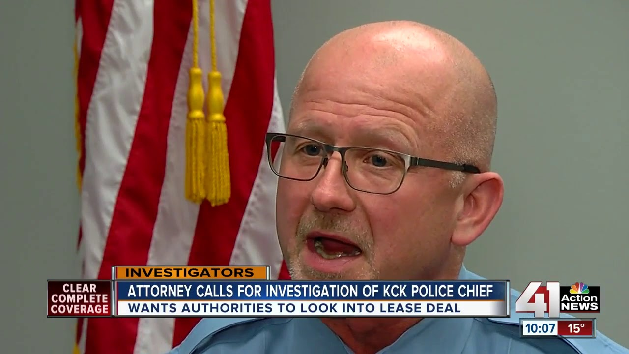 Local attorney calls for investigation of KCK police chief
