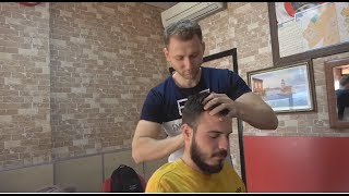 ASMR Turkish Barber Face, Head and Body Massage 180