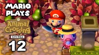 Harvest Festival - Mario Plays ACCF #12 (Animal Crossing: City Folk)