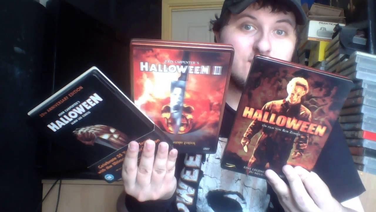 halloween halloween ii blu ray dvd steelbooks - Halloween Ii Blu Ray