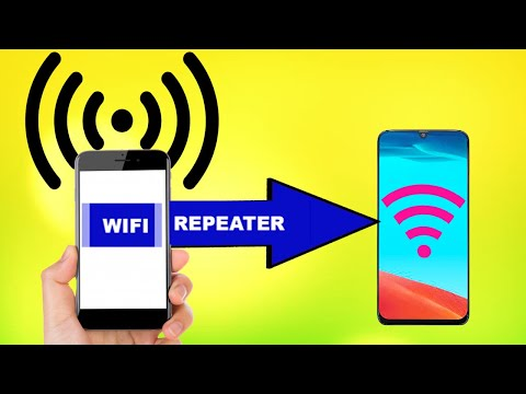 How Use Old Android Phone As Wifi Repeater | Increase Wifi Range Using Old Phone | Wifi Extender