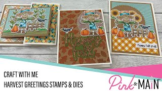 Craft With Me   Harvest Greetings Stamps and Dies