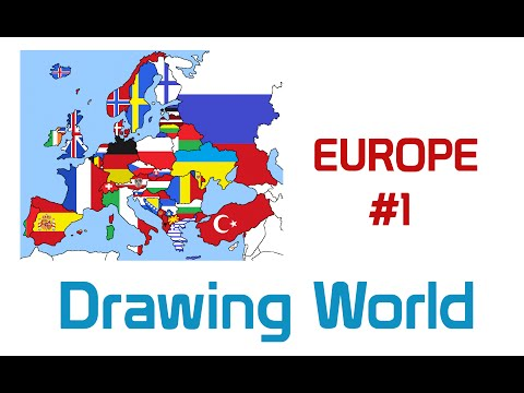 Europe | #1 | Drawing World