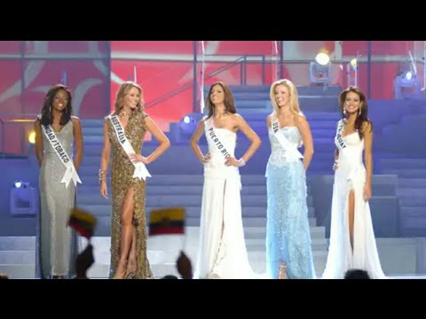 Miss Universe 2004 Top 5 Final Look