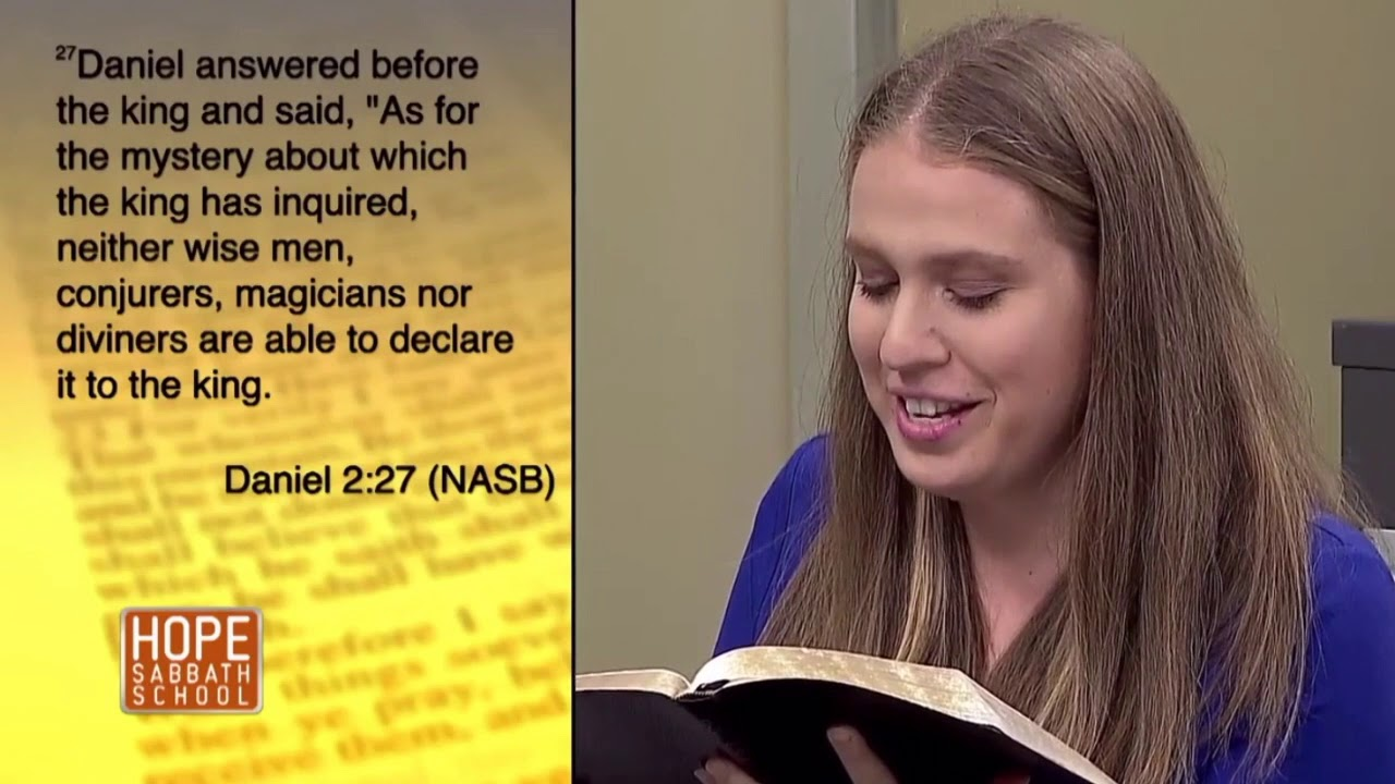 Hope Sabbath School Lesson 11 The Bible and Prophecy