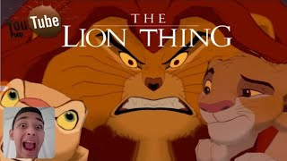 YTP the lion dong and thing reaction