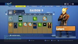 SAISON 9 -DISPONIBLE FOR 24 hours😱 FREE on FORTNITE SKINS AVENGERS secret SAISON 9 REVEALED