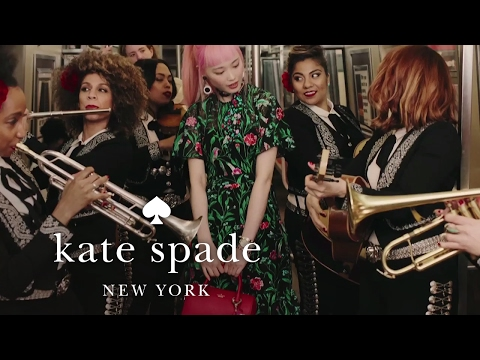 a mariachi subway ride with fernanda ly: the summer 2017 collection | kate spade new york