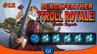 VAINGLORY: Blackfeather BrokenMyth Troll Build| Most OP Build? || Troll Royale Ep12