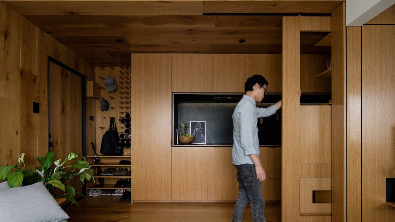 Jack Chen Transforms His Own 1970s 35m2 Small Apartment - An Architect's Home ep10
