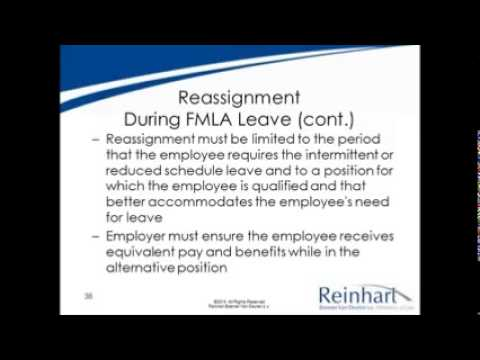 Navigating FMLA:  Federal vs. Wisconsin