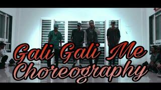 KGF! Gali Gali Me ! Mouni Roy ! Neha Kakkar ! Dance Choreography By - Suhas Kadu
